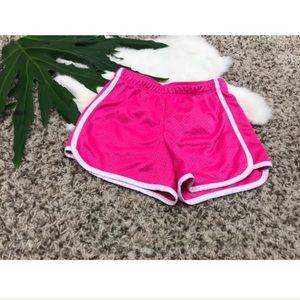 Justice Girl Athletic Sport Short Pant Sz 7